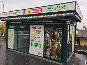 Basko inaugura un locker a Genova