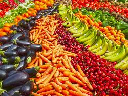 Frutta e verdura, impennata degli acquisti nel 2017
