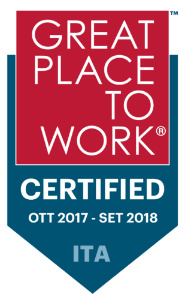 Cromology certificata Great Place to Work®