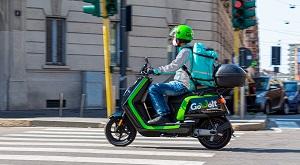Deliveroo adotta gli e-scooter GoVolt