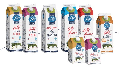 Nuovo packaging green per Latteria Soligo