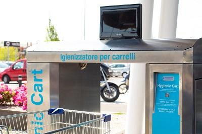 Hygienic Cart e la catena Iperal, insieme per la salute dei consumatori