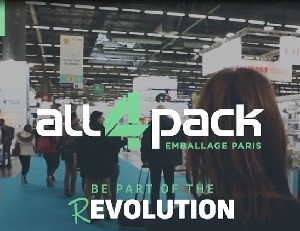 ALL4PACK  2020, una nuova era per il packaging