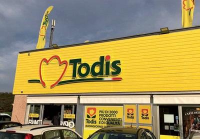 Todis, un super monomarca
