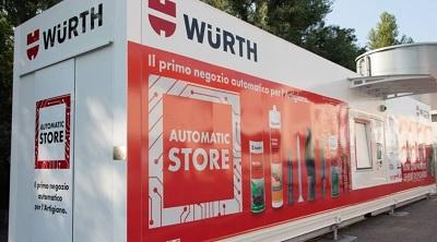 Würth apre il primo negozio automatico