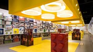 Un Lego store a Genova