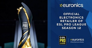 Euronics international sponsor di Esl