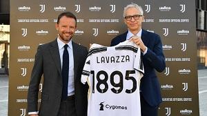 La Juventus beve caffè Lavazza