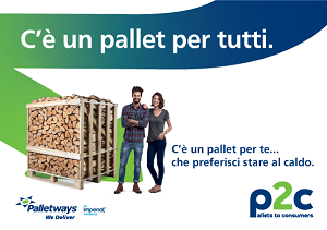 "Palletways lancia ""Pallets to consumers"""