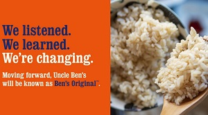 Uncle Ben's diventa Ben's original