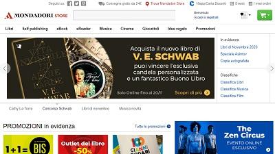 Mondadoristore festeggia i 20 anni con 40 milioni di visite