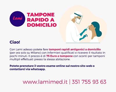 Test rapidi per privati e aziende: l'offerta personalizzata di Lami