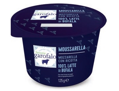 Moussarella con latte di bufala, la novità di Fattorie Garofalo
