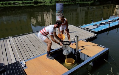 Un nuovo Seabin sull'Arno grazie alla collaborazione tra Lifegate e Unicoop Firenze