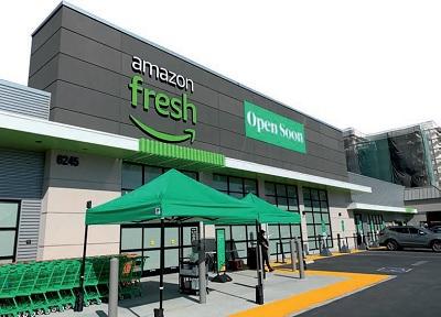 I food store di Amazon e Alibaba