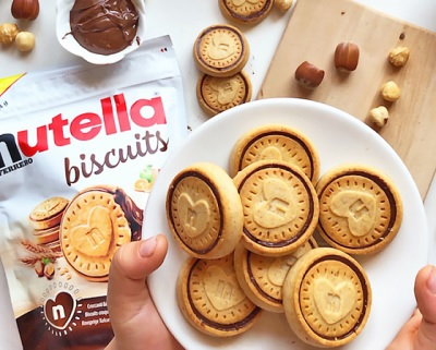 Compleanno record per Nutella Biscuits