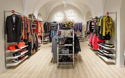 Take Off, la boutique a prezzi outlet sbarca sul web