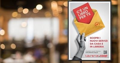 C'è un libro per te, nuova iniziativa di Librerie.coop online e nei pdv