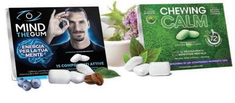 Dante Medical Solutions, gli integratori innovativi a portata di chewing gum