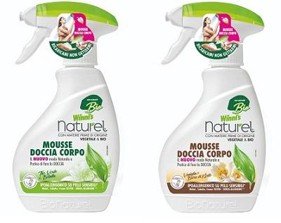 Anti spreco e senza gas: la nuova mousse doccia Winni's Naturel