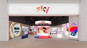 Arrivano i negozi Sky