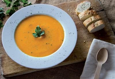 La zuppa vegetale va sempre forte