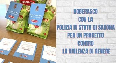 Noberasco con la Polizia di Stato di Savona contro la violenza di genere