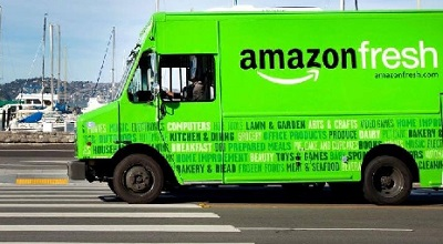 Amazon Fresh lancia il delivery agroalimentare a Roma