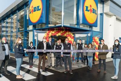 Lidl, prosegue il piano di sviluppo con una triplice inaugurazione
