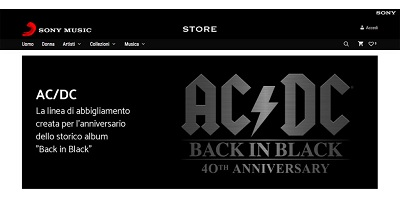 Nasce il primo e-commerce di Sony Music Italia