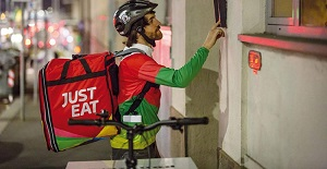 Ccnl Logistica per i rider di Just eat