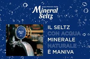 Mineral seltz, l'innovazione di Maniva