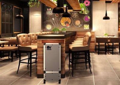 I sistemi Vortice per la sanificazione dell'aria nella ristorazione