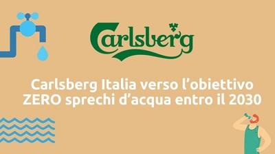 Carlsberg Italia riduce gli sprechi d'acqua
