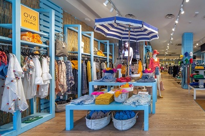 Ritorna e cresce  il temporary concept store di Ovs dedicato alla vacanza