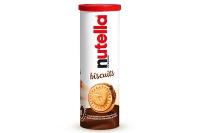 Nutella Biscuits, è arrivata la confezione a tubo