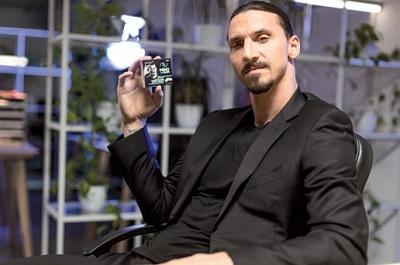 Zlatan e altre 8 stelle promuovono gli integratori chewing gum Dante Medical Solutions