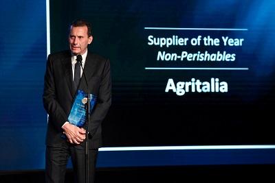 Agritalia conquista il Supplier Award per il secondo anno consecutivo