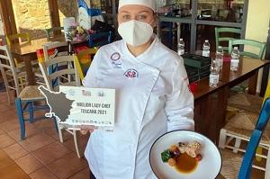 Denise Massarenti è Lady chef Toscana