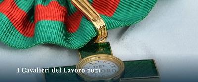 Nominati i 25 neo Cavalieri del Lavoro