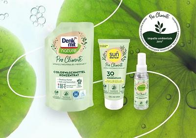 dm drogerie markt lancia la linea green Pro Climate