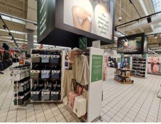 Carrefour, anche in Italia è in vendita l'abbigliamento sostenibile