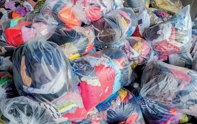 Gestione sostenibile degli abiti usati