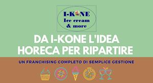 I-Kone, franchising del gelato