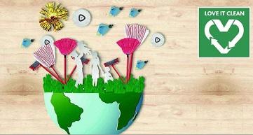 Con Love It Clean Vileda si impegna per un futuro più sostenibile