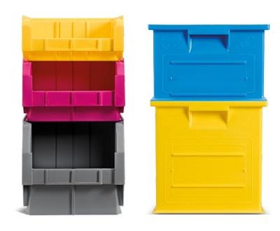 Scaffali modulari e sovrapponibili Square