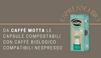 Motta lancia le capsule compostabili compatibili Nespresso