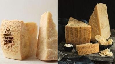Parmigiano Reggiano e Grana Padano insieme contro il Nutriscore