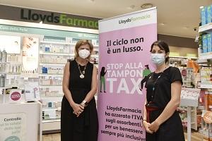 Lloyds azzera l'Iva sugli assorbenti