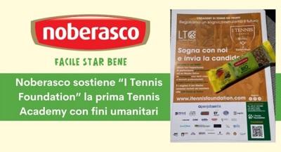 Noberasco sponsorizza i Tennis Foundation
